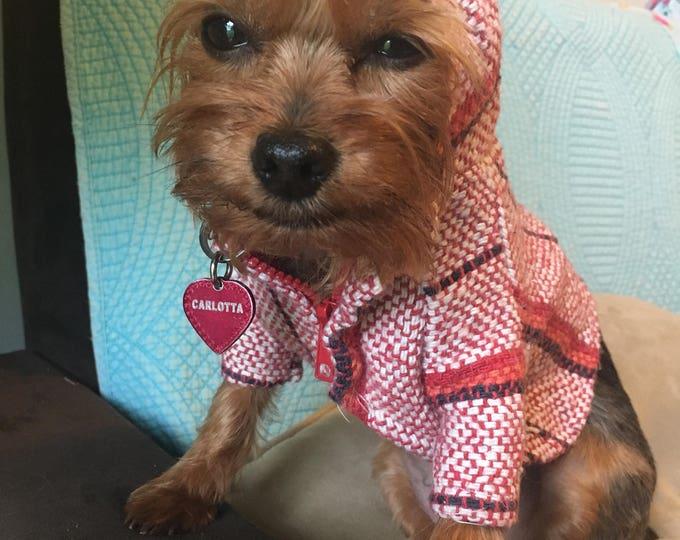 Poncho para perrito/ Ropa Mexicana para perro/ Chamarrita para perro/ Ropa cool para perrito