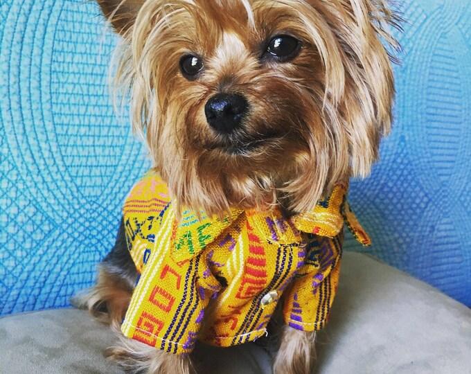 Camisas para perrito estilo Mexicano/ Camisitas mexicanas para perro / Ropita tipica Mexicana folklorica para perro