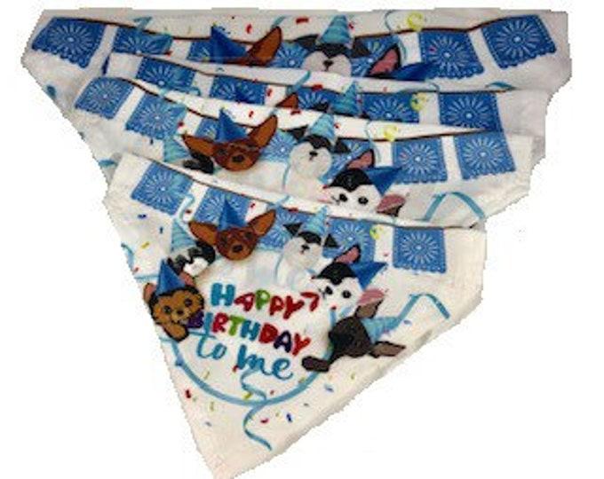 Paliacates de cumpleaños para perro