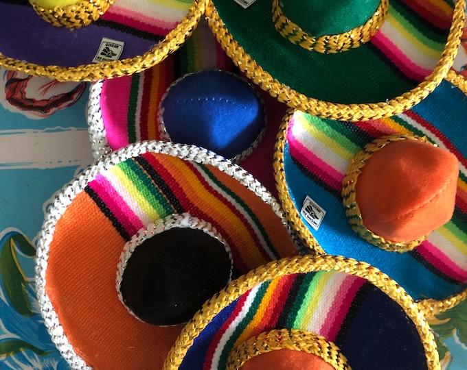 Mexican dog Sombreros / Mariachi dog hats / Mexican Sombreros for dogs / Sombreritos Cinco de Mayo/ Zarape style NEW!