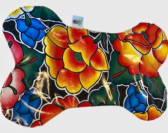 Dinner dog Mat/ Bone Mat for dogs/ Mexican dog mat/ Dog dish placemat/ Mexican Placemat