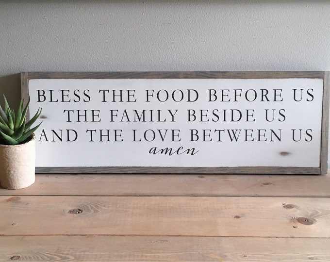 "BLESSING PRAYER 8""x24"" 