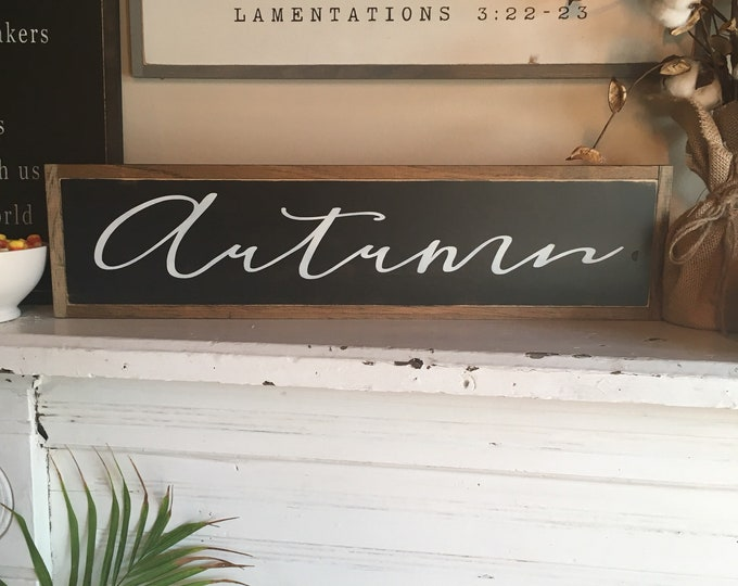 "AUTUMN 6""X24"" 