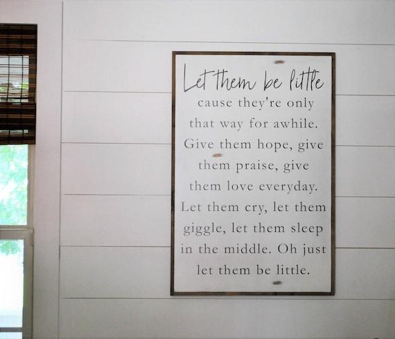 BE LITTLE 2X3