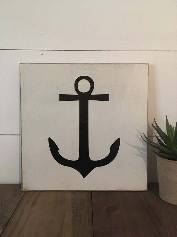 """READY TO SHIP! Slim sign wooden distressed sign 11""""x11"""""""