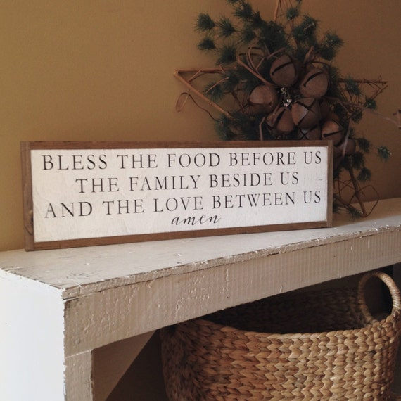 """BLESSING PRAYER 8""""x24"""" sign 