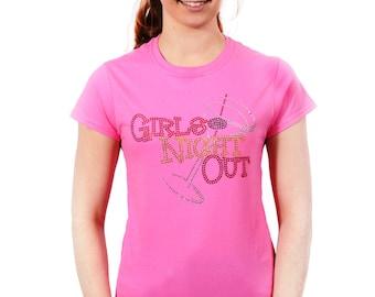 Girls Night Out Rhinestone T-Shirt