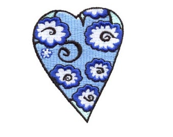 EZSew Embroidery Design Heart from Hearts Collection - Instant Download