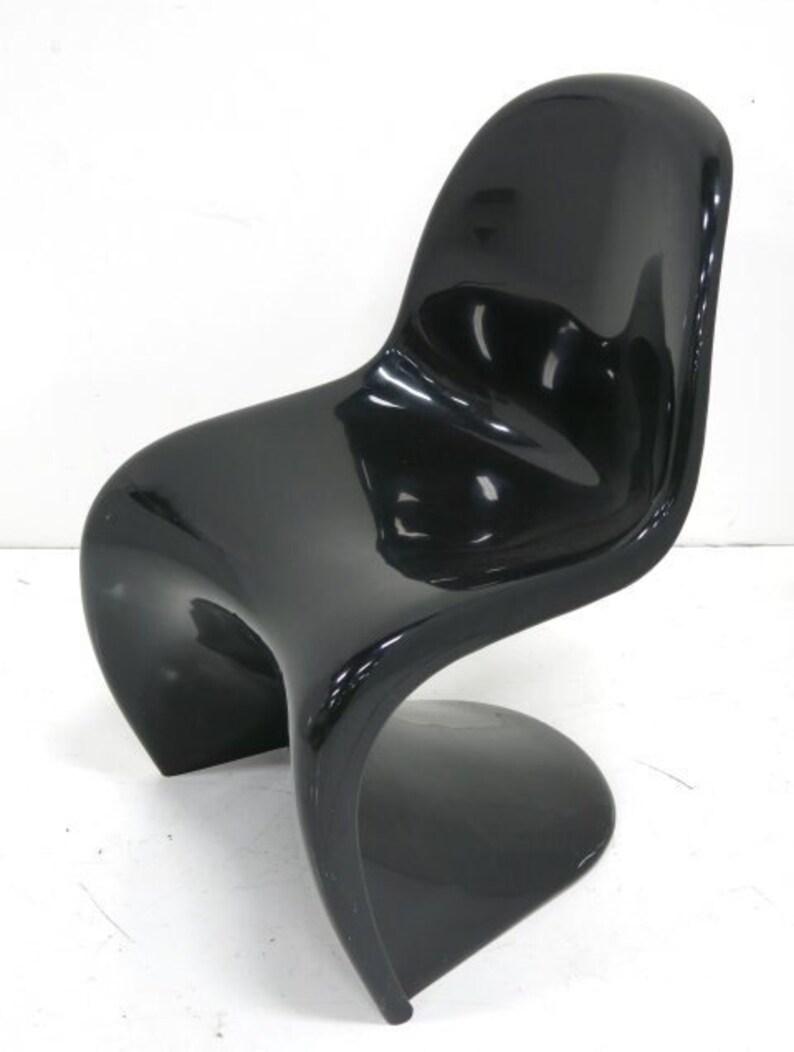Ca. 1973 Verner Panton For Herman Miller Fiberglass Chair