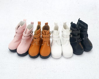 Doll Shoes Strap PU Leather Shoes For 16/'/' Dolls Clothing Accessories ES