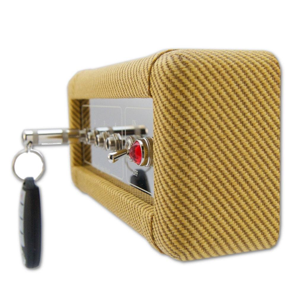 Wall Mounted Key Rack Tweed Amp Key Holder Guitar Player | Etsy