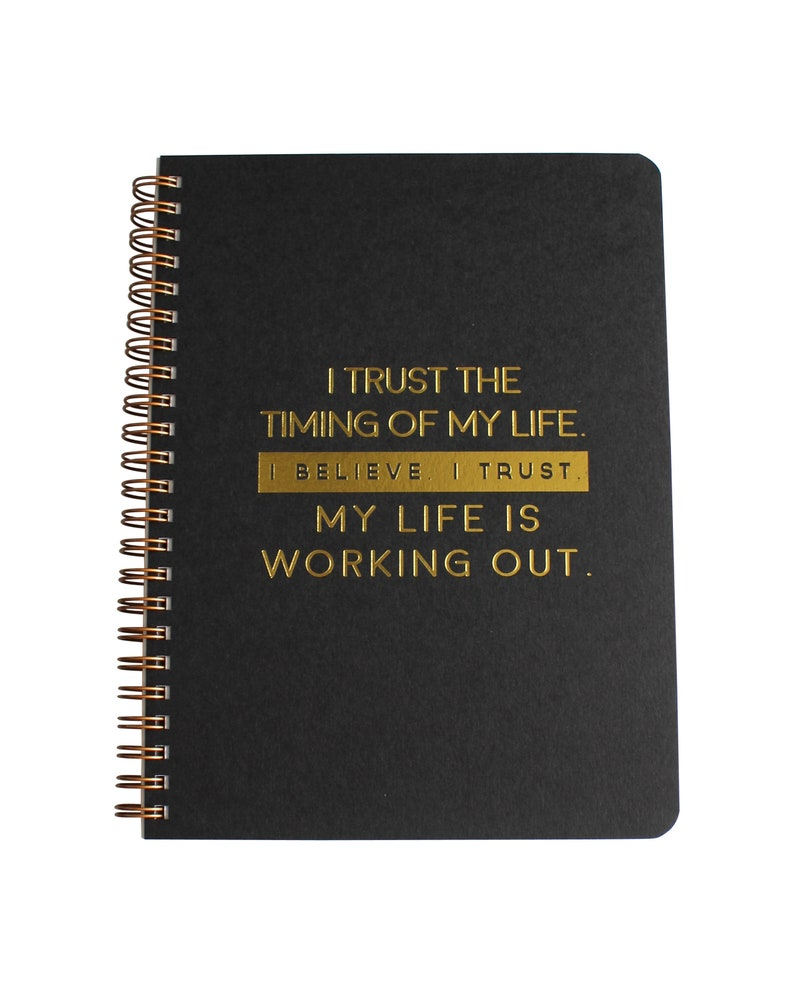 Life Works Out Wire Bound Journal