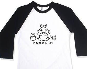 My Neighbor Totoro & Friends Baseball Tee