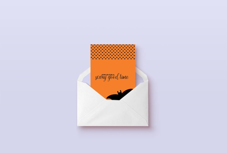 photograph about Printable Halloween Card titled Halloween invitation printable card, humorous halloween card, printable halloween decor, contain a intimidating Great period amusing card, electronic down load
