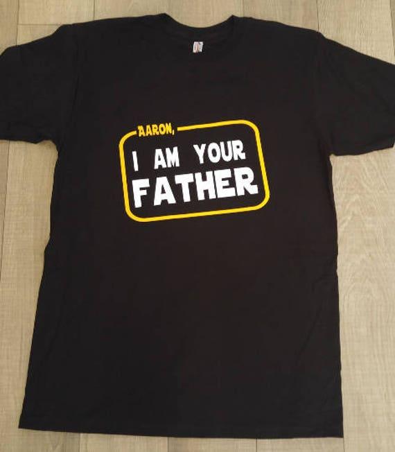 anniversaire, star wars, je suis votre père, le luke drôle, skywalker, je starwars shirt anniversaire, drôle, luke chemises de film, anniversaire thème, je suis ta mère 419e83