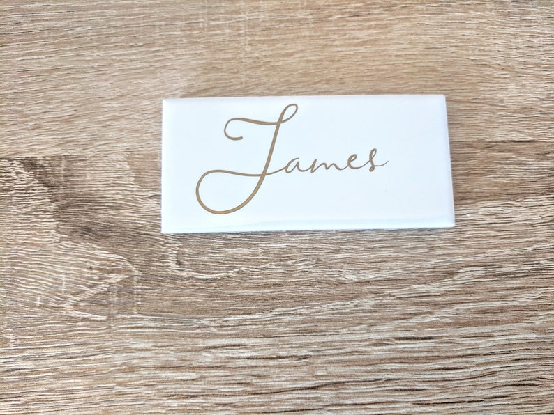 Seating Chart Alternative Tile Placement Card Place Card Marble Place Cards
