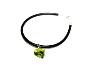 Bracelet wire and glass bead