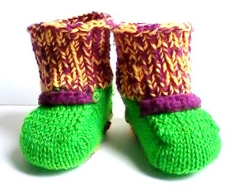 Baby booties or slippers