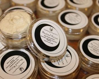 Brutiful Butter 100% vegan lobe care cream.