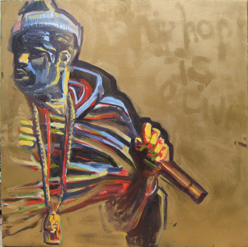 Nas Oil Painting image 0