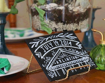 Mini Chalkboard Table Names for Weddings & Events