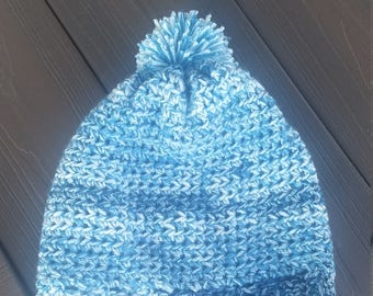 Super soft handmade crocheted hat.