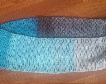 Verigated Infinity Scarf
