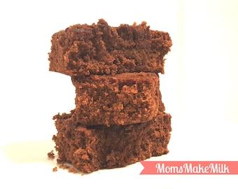 Lactation Brownie Mix, Breastfeeding Moms Lactation Treats