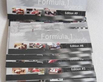 Formula 1 Legends - 1-9 - 27 Hologram Phonecards / 27 German Calling Cards - 9 excl. Folder - Telefonkarten
