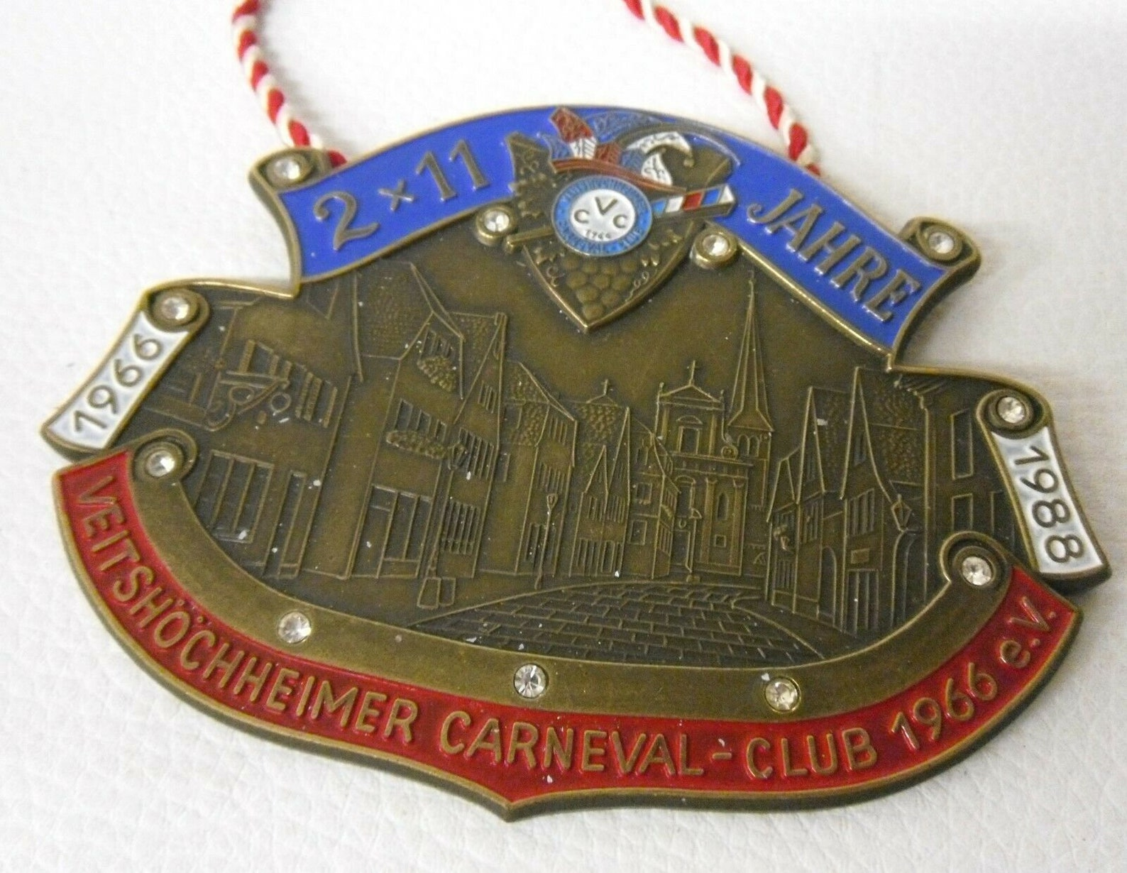 Old Carnival Order - Veitschöchheimer Carneval Club 1988