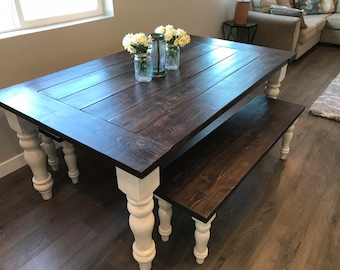 Dining Table Set Etsy