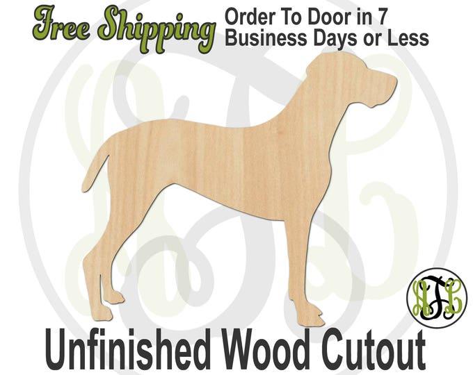 Vizsla - 230107- Animal Cutout, unfinished, wood cutout, wood craft, laser cut, wood cut out, Door Hanger, Dog, wooden
