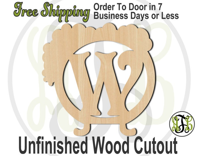 Bubbling Cauldron - 160004M1- Personalized Cutout, Initial, unfinished, wood cutout, wood craft, laser cut, wood cut out, wooden