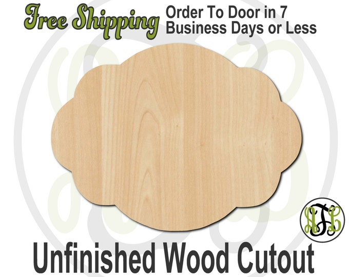 Plaque Rebecca - 40013- Cutout, unfinished, wood cutout, wood craft, laser cut shape, wood cut out, DIY, Free Shipping