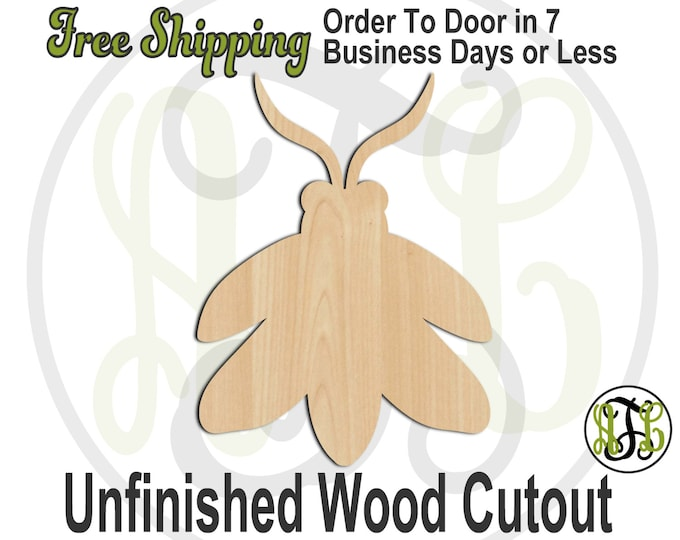 Firefly - 235007- Bug Cutout, unfinished, wood cutout, wood craft, laser cut shape, wood cut out, Door Hanger, Insect, wooden, blank