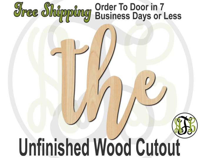 the - 320047FrFt- Word Cutout, unfinished, wood cutout, wood craft, laser cut wood, wood cut out, Door Hanger, wooden sign, wreath accent