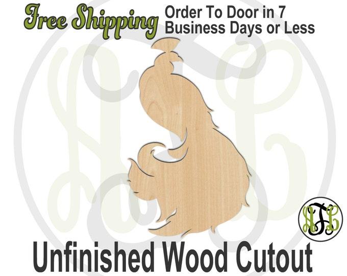 Peacock - No. 230048- Bird Cutout, unfinished, wood cutout, wood craft, laser cut shape, wood cut out, Door Hanger, wooden, blank