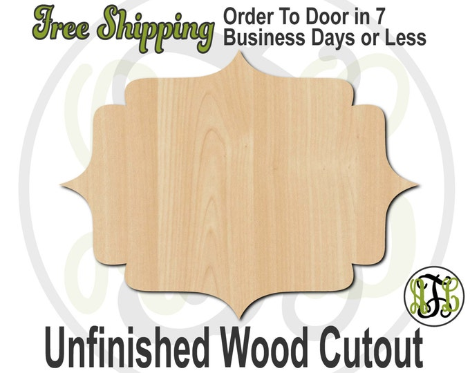 Plaque Suzie - 40032- Cutout, unfinished, wood cutout, wood craft, laser cut shape, wood cut out, DIY, Free Shipping