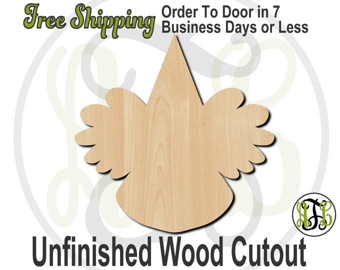 Clown 2 - 80002- Cutout, unfinished, wood cutout, wood craft, laser cut shape, wood cut out, Door Hanger, wooden, wreath accent