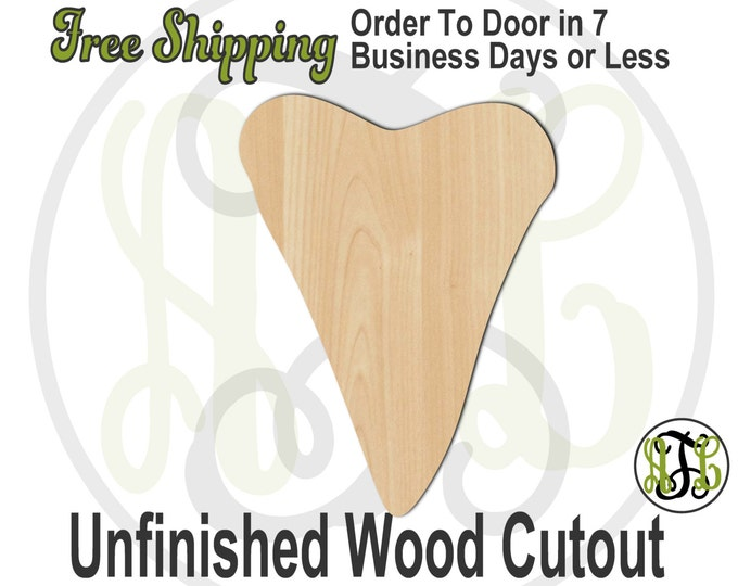 Shark Tooth - 230053- Summer Cutout, unfinished, wood cutout, wood craft, laser cut shape, wood cut out, Door Hanger, Beach, wooden, blank