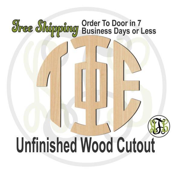 3 Letter Greek Circle - Greek Alphabet - unfinished, wood cutout, wood craft, laser cut wood, cut out, wooden, Door Hanger, wreath accent