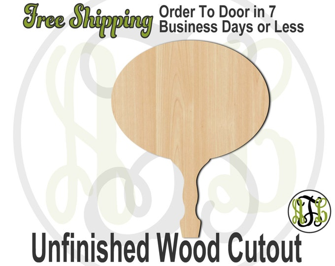Oval Paddle Sign- 3400004- Cutout, unfinished, wood cutout, wood craft, laser cut shape, wood cut out, DIY, Free Ship, Wedding, bleacher