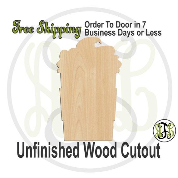 Coffee with Cream - 70028- School Spirit Cutout, unfinished, wood cutout, wood craft, laser cut, wood cut out, Door Hanger, wooden, Teacher
