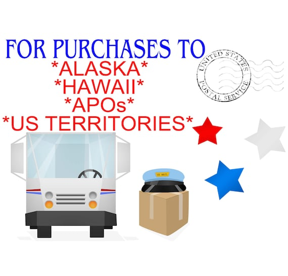 Shipping to Alaska, Hawaii, APOs and US Territories