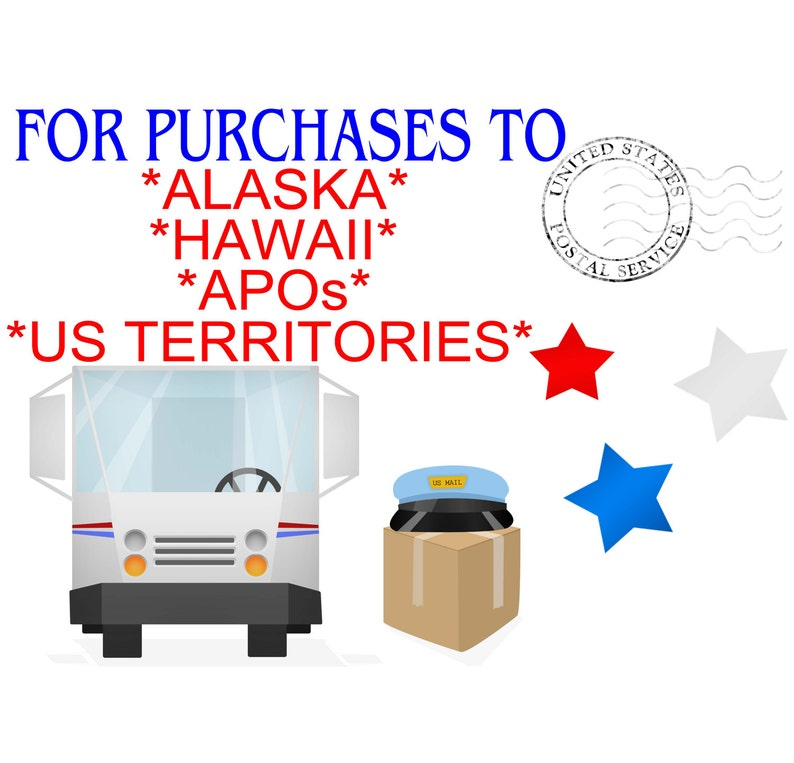 Shipping to Alaska Hawaii APOs and US Territories image 0