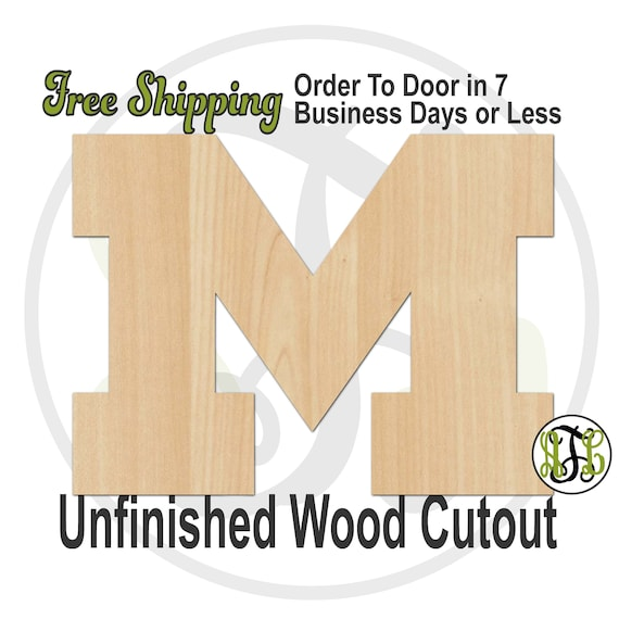 M- 60203- Sports Cutout, unfinished, wood cutout, wood craft, laser cut shape, wood cut out, Door Hanger, wooden