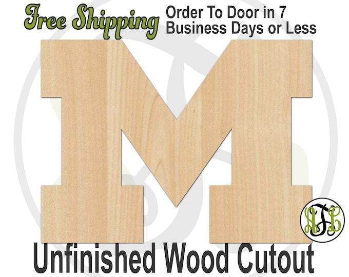 M- 60203- Sports Cutout, unfinished, wood cutout, wood craft, laser cut shape, wood cut out, Door Hanger, wooden