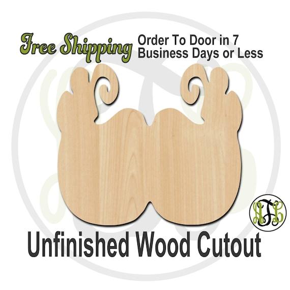 Mardi Gras Mask - 1300001- Cutout, unfinished, wood cutout, wood craft, laser cut shape, wood cut out, Door Hanger, wooden, wall art
