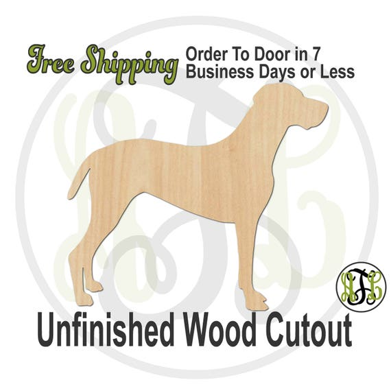 Vizsla - 230107- Animal Cutout, unfinished, wood cutout, wood craft, laser cut, wood cut out, Door Hanger, Dog, wooden