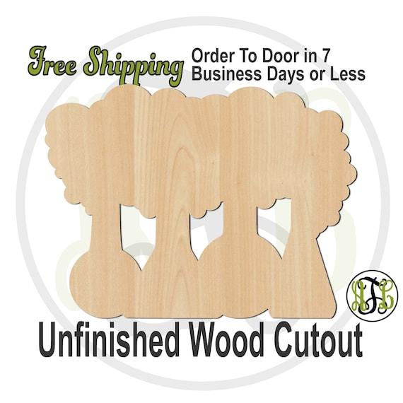 Chemistry Beakers Errupting - 70026- School Cutout, unfinished, wood cutout, wood craft, laser cut shape, wood cut out, Door Hanger, Teacher
